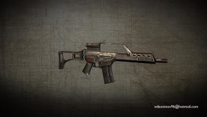 G36 Assault Rifle by wilzoon