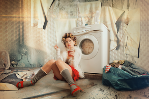 Housework today? by Lhianne