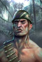 Da Bulgarian Soldier by Mikeypetrov