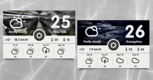Weather Tab HD for xwidget by jimking