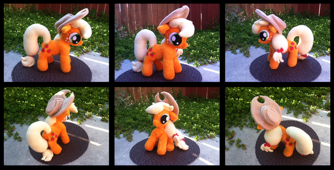 Applejack Plush by PetrucciosPlushies