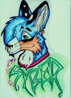 :gift: Syber by dyingbreed666