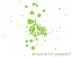 Anyone for Peace? by itsyouforme