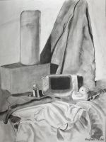 Duck and Gameboy Still Life by kurios