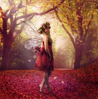 Autumn Fairy by Pygar