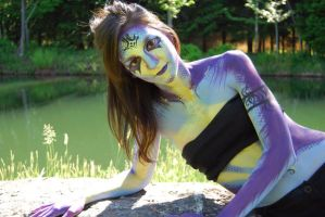 Aquatic_Body Painting 2 by Maiwen