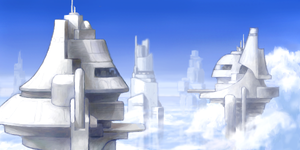 Sky Towers by ZackF