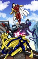 Favorite DA Super Heroes by Bracey100
