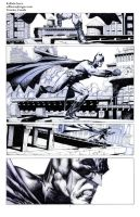 Batman pencil sample01 by Raffaele-Ienco