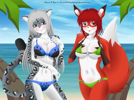 Feline And Canine by EVOV1