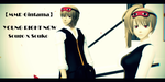 Gintama MMD - Young Right Now (Video Link) by xXChibi-SenpaiXx