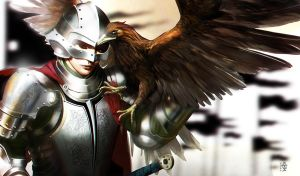 Eagle Eyesm, Nommo, Eagle, Warrior, armor by N0mm0