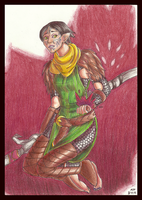 Merrill of Dragon Age by TwilightMoon1996