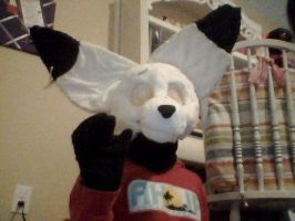 Another scot fursuit head wip by AloraandDamine