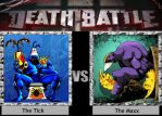 The Tick vs The Maxx DEATH BATTLE by Iorigaara