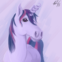 twlight sparkle is a horse by mylittlebadzerg