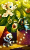 Christmas in Unova by arkeis-pokemon