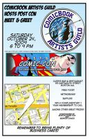 boston comic con flyer for CAG by westwolf270