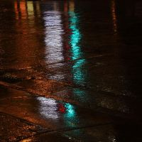 Wet reflections-square edit by mstargazer