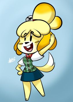 Isabelle  by AKB-DrawsStuff