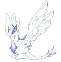 baby lugia by Ravoilie