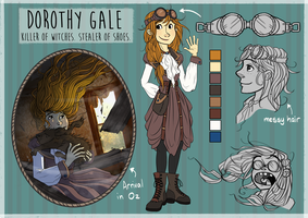 Dorothy Gale Design Sheet by nutty-acorn