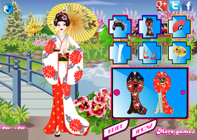 Japanese Garden Geisha Dress-up by willbeyou