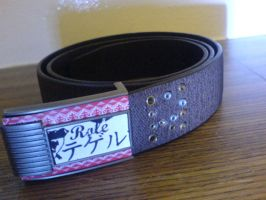 Role Casual Smart Riveted Belt by Yakawuri-Role