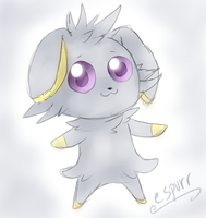 Espurr by gretellu