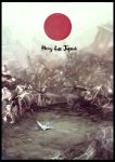 Pray for Japan by KaelNgu