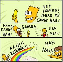 Simpsons Grab by AVRICCI
