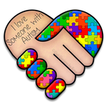 I love someone with Autism by serafina-rose