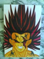Drawing-MyselfMonster_Dragonball=LG by eduaarti