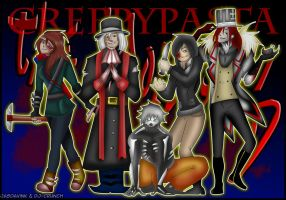 CreepyPasta TEAM- The Proteges by JasDavINK