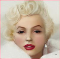 Monroe Painting by chamirra