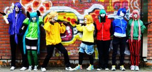 Matryoshka group photo by Kiosa