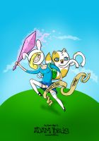 Adventure time - Fionna and Cake by x-m4n