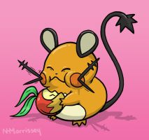 Dedenne! by NHMorrissey