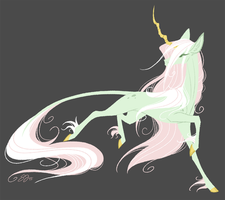 Mint Unicorn by Famosity