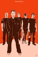 Radiohead by monsteroftheid