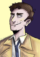 O Castiel, the Sinner of Saints by wayward-cassbutt