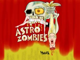 Astro Zombie by Makinita by Makinita