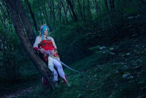 Waiting for the next journey by Elsa-Cosplay