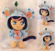 Chibi Plushie Birthday Present for shatik by ThePlushieLady