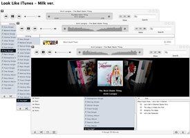 Look Like iTunes by synchrocontrol