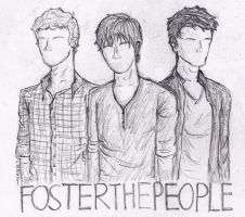 Foster The People by wiginiit