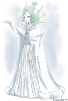 Snow Queen Edel by blueberryhope