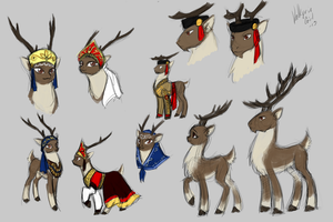The Tsardom of Muskovy - Reindeers of the Arctic by Lionel23