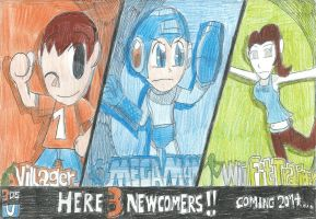 E3 2013: SSB4: Here The Three Newcomers!! by FelixToonimeFanX360