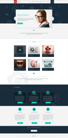 Freebie - Mentum One Page Template by GraphBerry